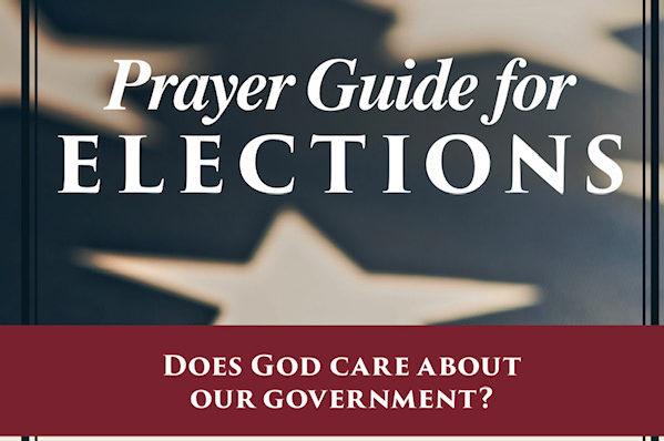 Praying for Elections Prayer Bookmark
