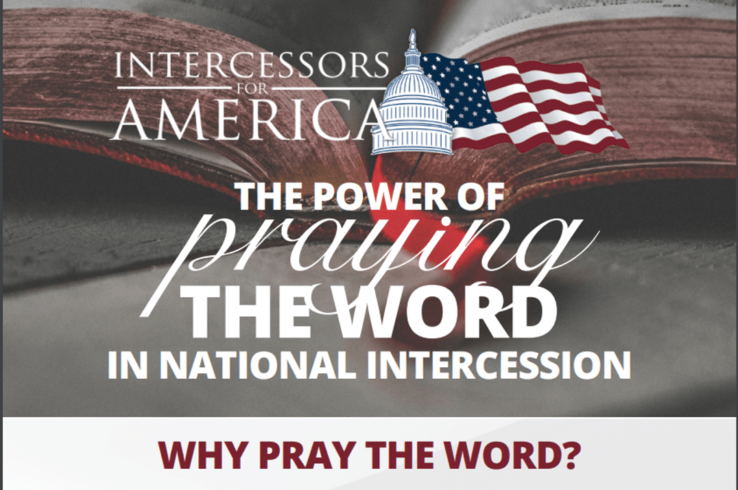 The Power of Praying the Word in National Intercession