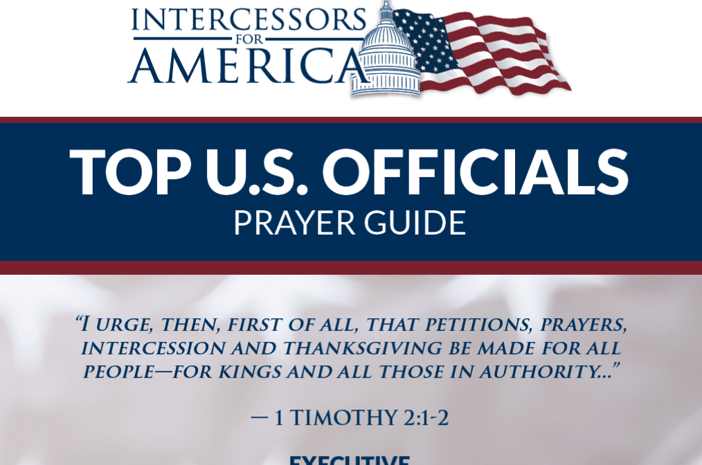 Top U.S. Officials to Pray for by Name