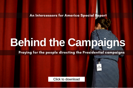 Behind the Campaigns Prayer Guide