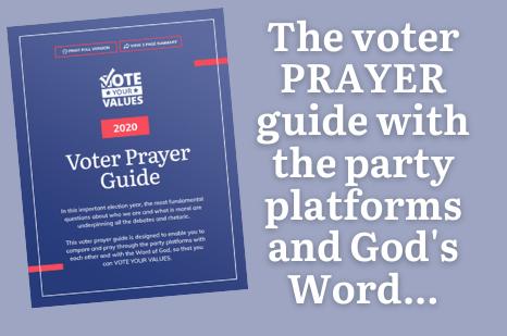 2020 Voter Prayer Guide
