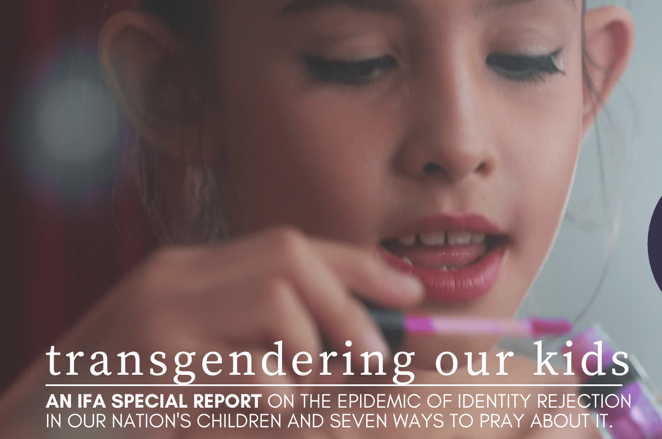 Transgendering Our Kids Special Report